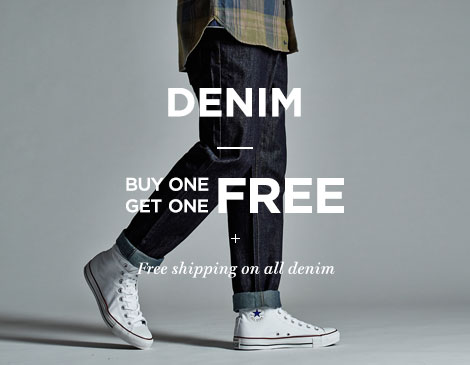 Mens Denim BOGO Free
