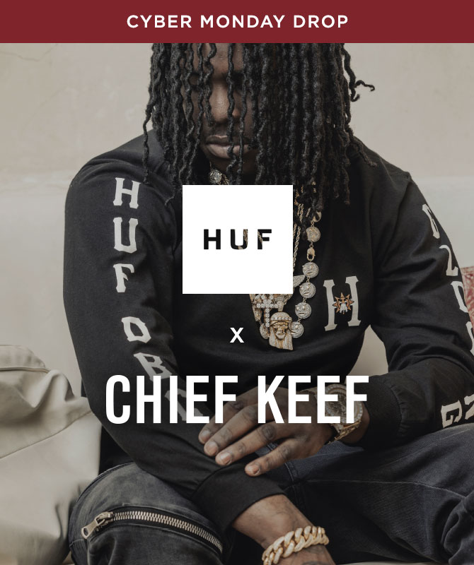 Mens HUF x Chief Keef