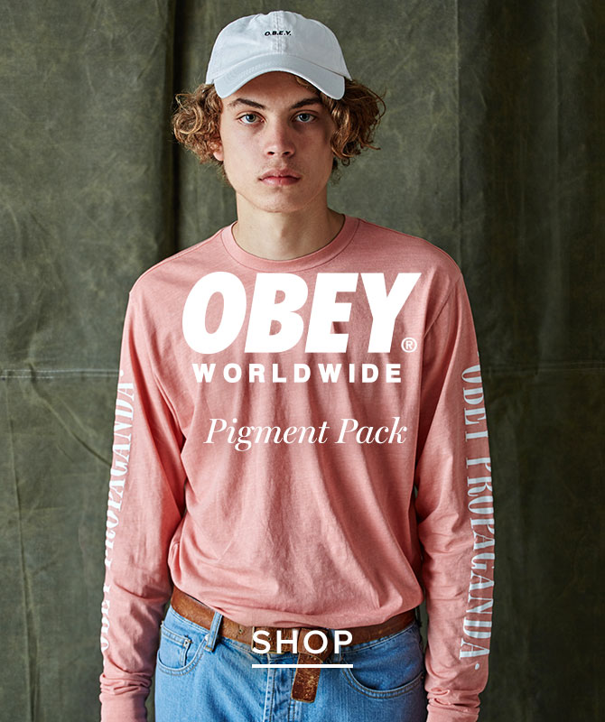 Mens obey pigment pack
