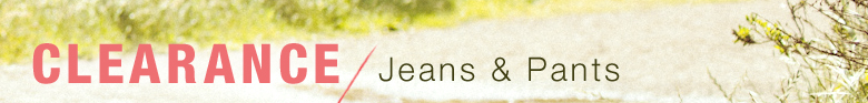 Clearance Women's Jeans & Pants