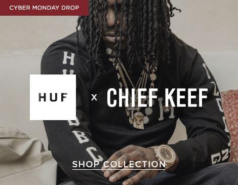 Mens HUF x Chief Keef