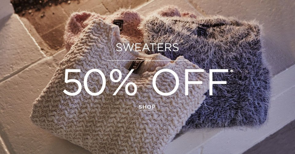 Womens 50% off Sweaters