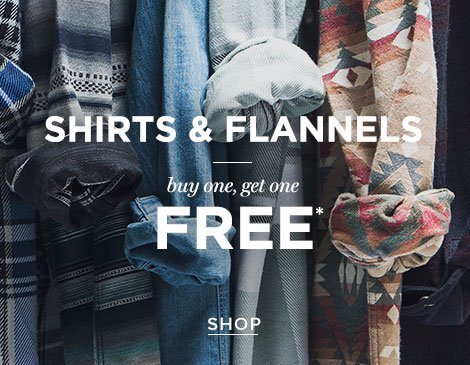 Mens Shirts & Flannels