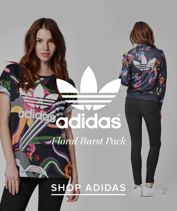 Womens Adidas FLORAL