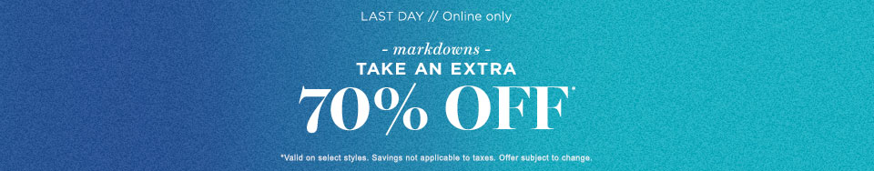 Sale Extra 70% off MDS