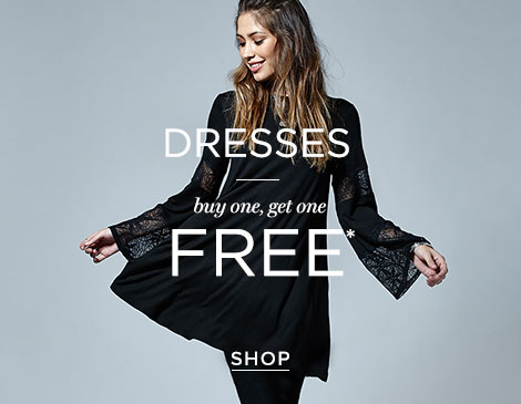 Womens Dresses BOGO