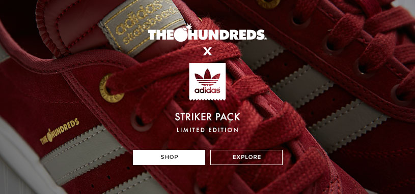 Mens Adidas x Hundreds Striker Pack