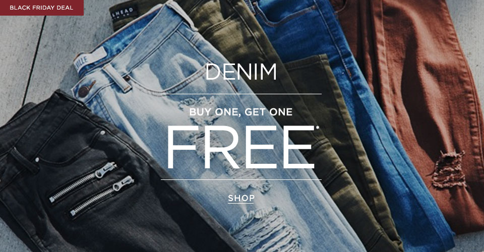 Womens BOGO FREE Denim