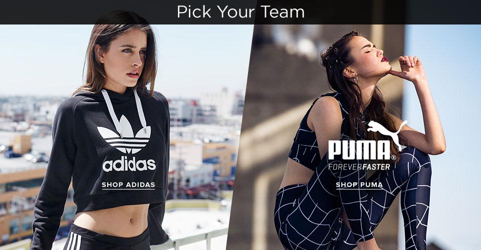 Womens adidas / Puma