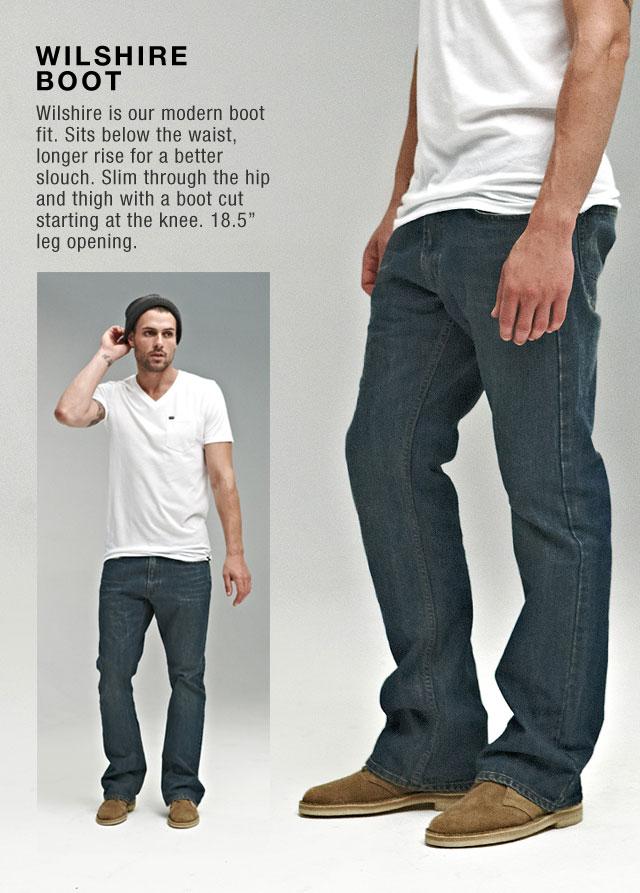 Wilshire Boot - Men's Denim Fit Lookbook