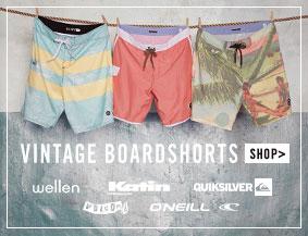 Vintage boardshorts