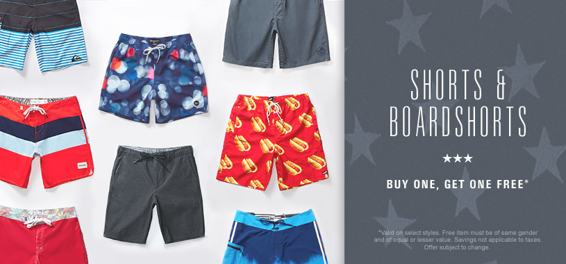 BOGO Free Swim & Shorts