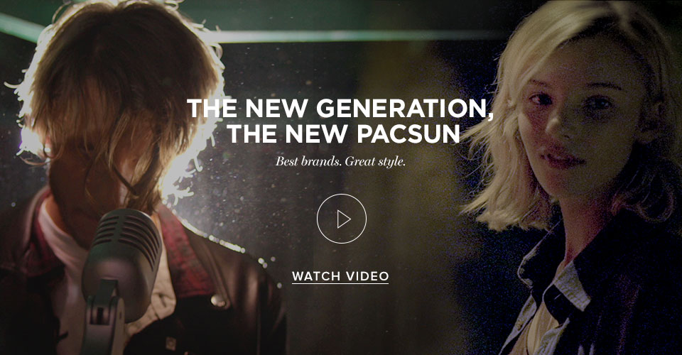 THE NEW GENERATION, THE NEW PACSUN