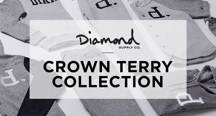Mens Diamond Crown Terry