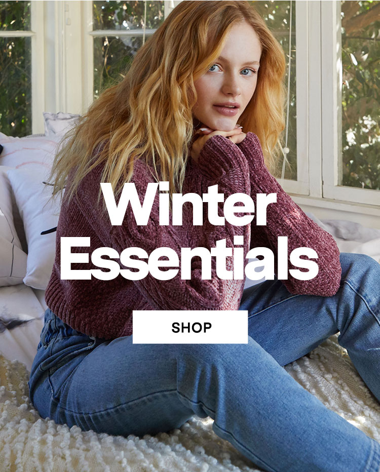 shop womens winter essentials