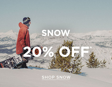 Mens Snow 20% off