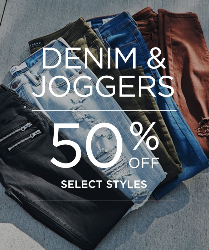Womens 50% off Denim