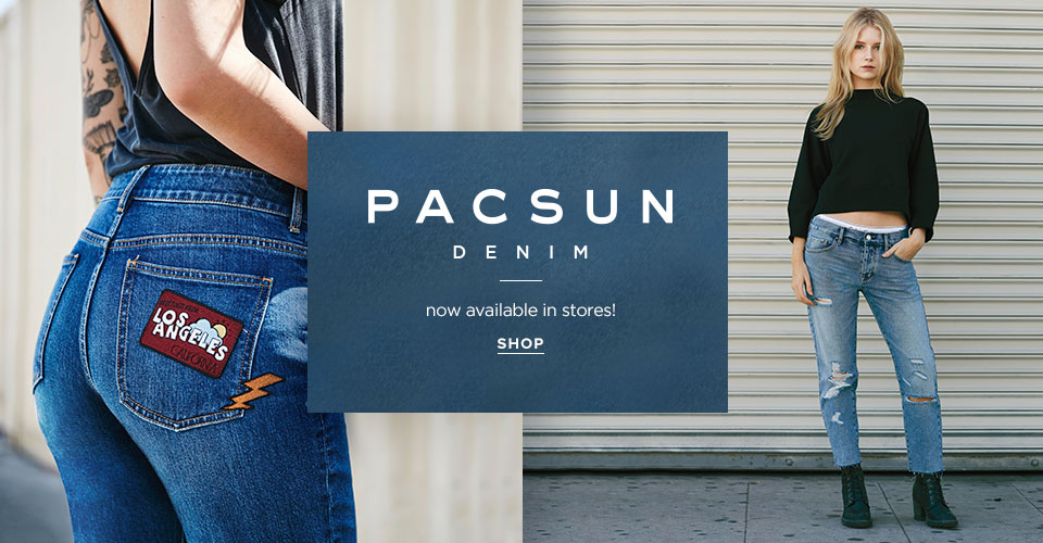 Womens PacSun Denim now in stores