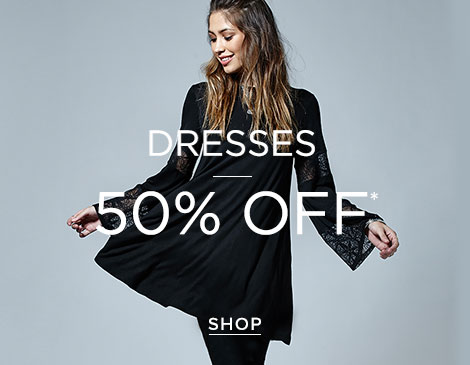 Women's Dresses up to 50% off