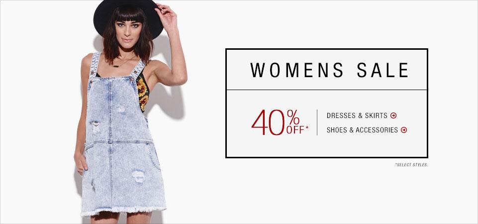 womens 40% off