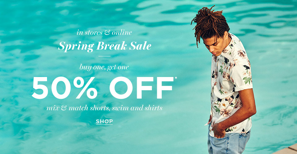 Mens Best of Spring BOGO 50