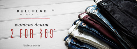 Womens Denim Promo