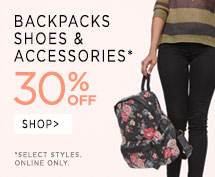 backpacks and accessories