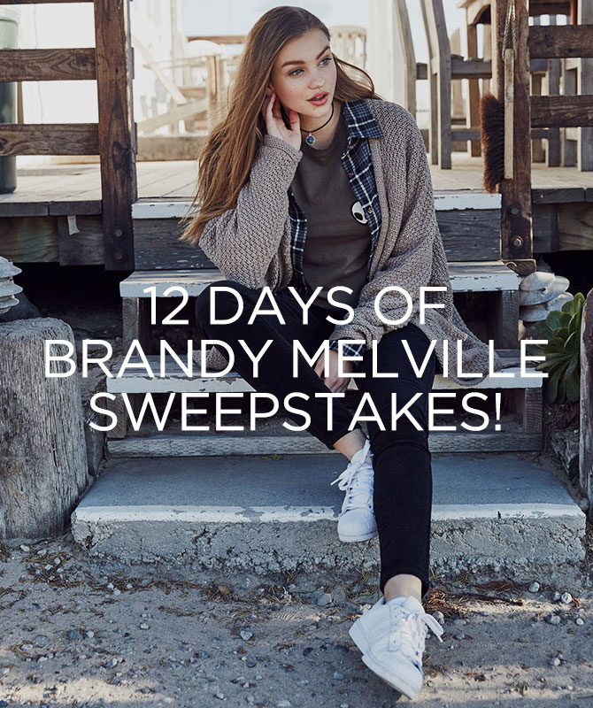 Women's 12 days of Brandy Melville