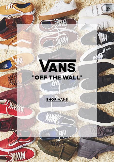 Mens Vans Footwear