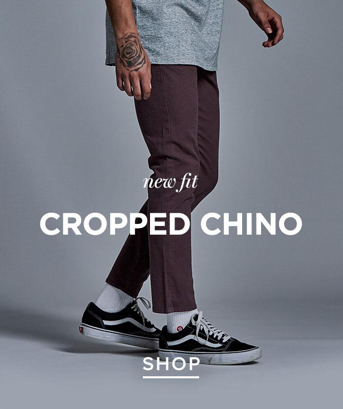 Mens New Crop Chino