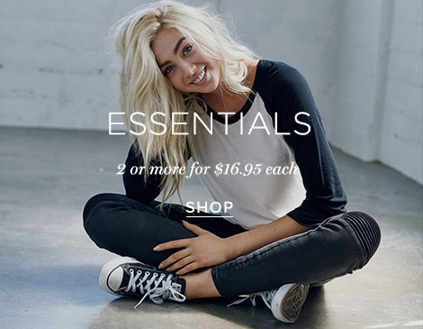 Women's Essentials with promo