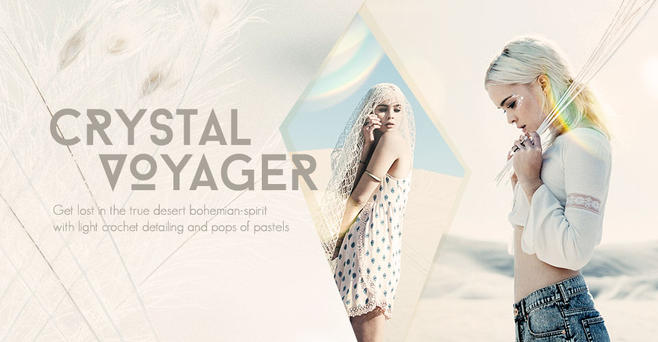 Womens Crystal Voyager