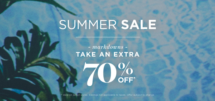 Womens Summer Sale