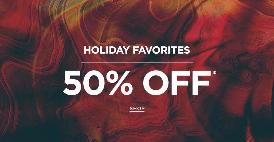 Men's 50% off select styles