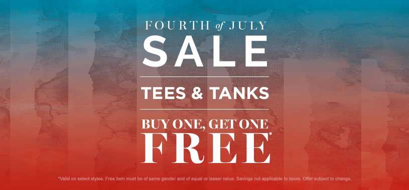 BOGO Free Tops _ 4th of July