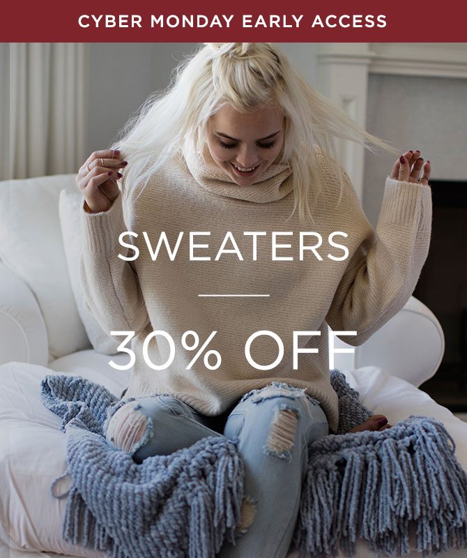 Womens 30% off  Sweaters