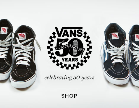 Mens Vans 50th Anniversary Collection