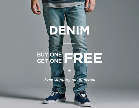 Mens Denim BOGO Free + Free shipping