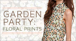 Garden Party: Floral Prints