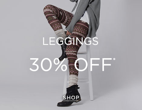 Womens Leggings 30%