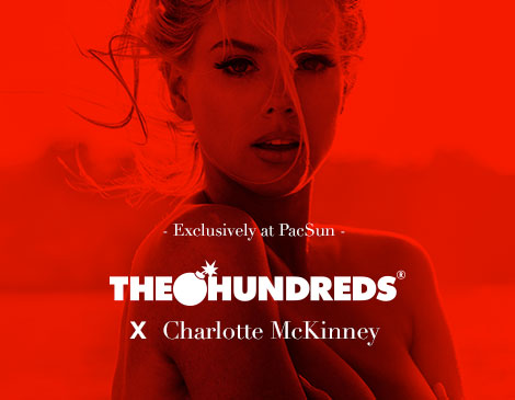 Mens Hundreds x Charlotte McKInney