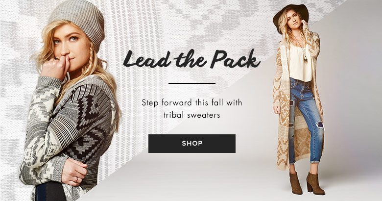 womens tribal sweaters