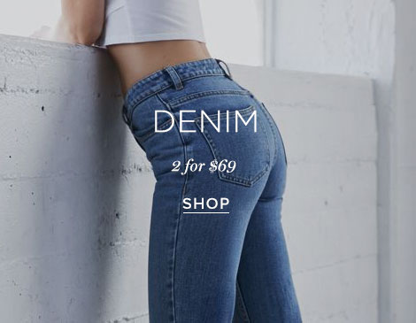 Womens Denim 2/$69