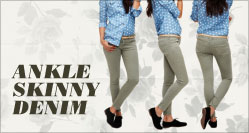 Ankle Skinny Denim