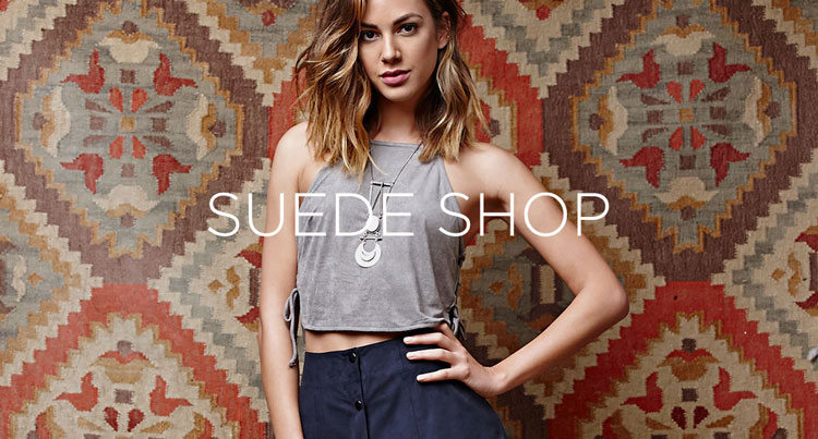 Womens suede shop