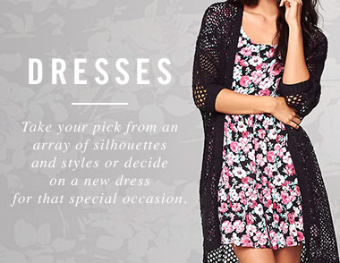 Dresses Landing Page