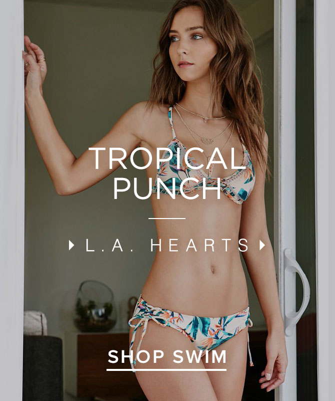 Womens Swim Tropical Prints