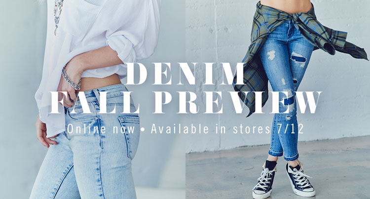 Womens BTS Denim