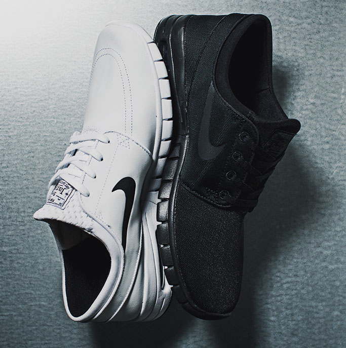 Janoski Max Now in White & Black