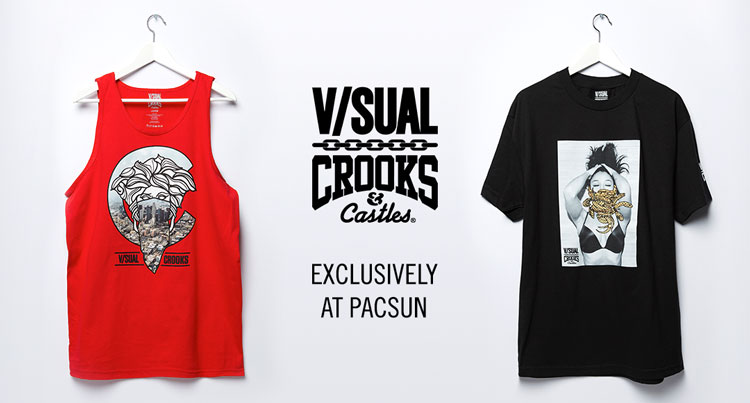 Mens Visual x Crooks